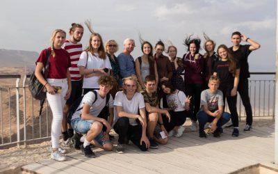 Palangos senosios gimnazijos delegacija atstovavo Palangos miestui Izraelyje, Eilato mieste