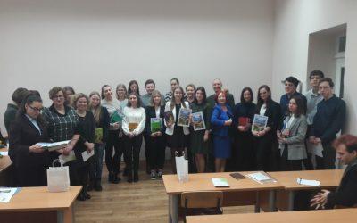 Gimnazistai – KU konferencijoje