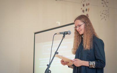 Austėja Daukšaitė- kūrybos konkurso laimėtoja