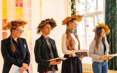 Į Palangos senąją gimnaziją vėl rinkosi jaunieji poetai