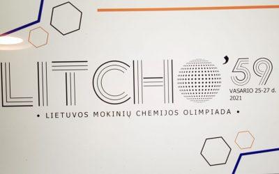 Matui Junčiui Pagyrimo raštas Lietuvos mokinių chemijos olimpiadoje
