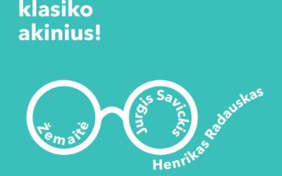 """Mūza Svetickaitė – literatūrinių imitacijų konkurso """"Pasimatuok klasiko akinius!"""" laureatė"""