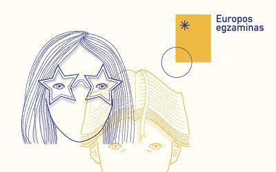 Kviečiame dalyvauti Europos egzamine