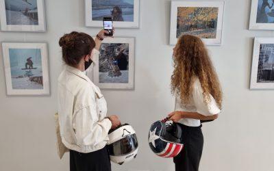 """Palangos senosios gimnazijos bendruomenės fotografijų parodos """"Mano miestas"""" atidarymas"""